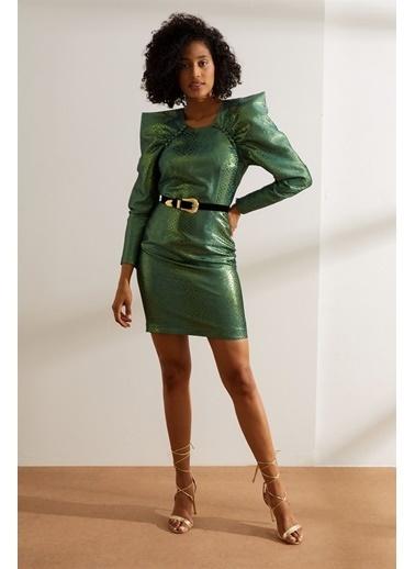 Setre Elbise Yeşil